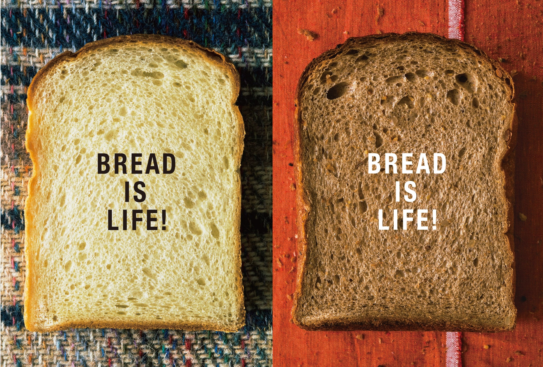 BREAD IS LIFE!